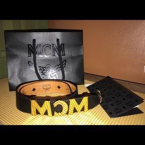 MCM Leather Accessory Shoulder Strap